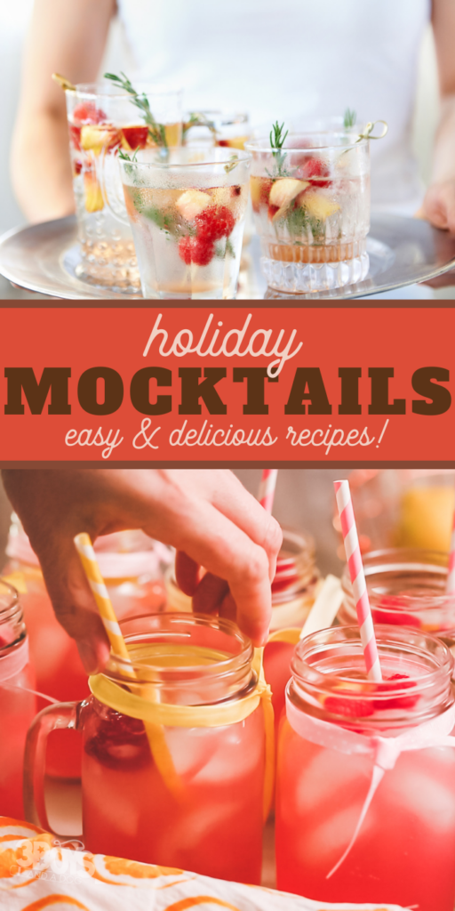 easy and delicious holiday mocktail recipes