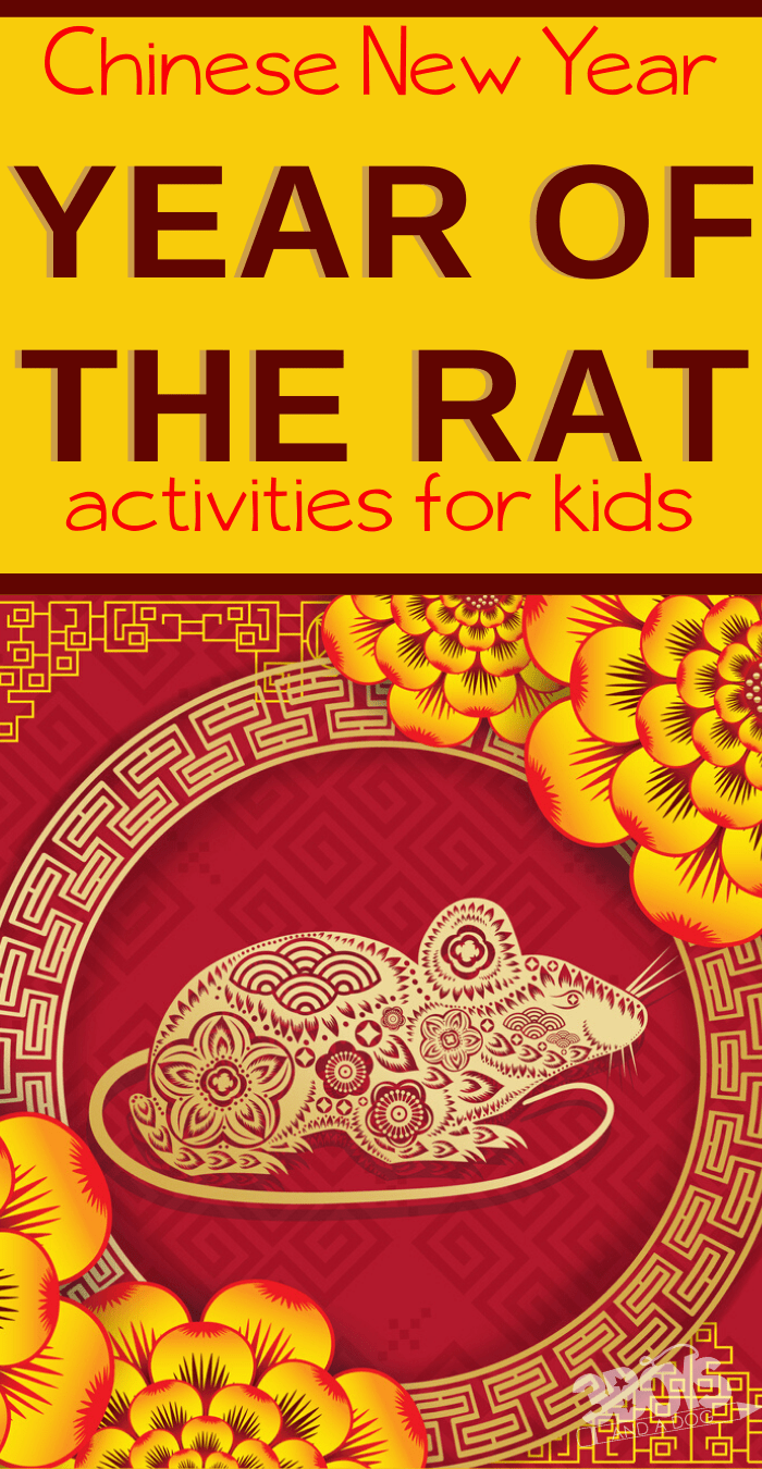 Chinese New Year Activities for Kids The Rat