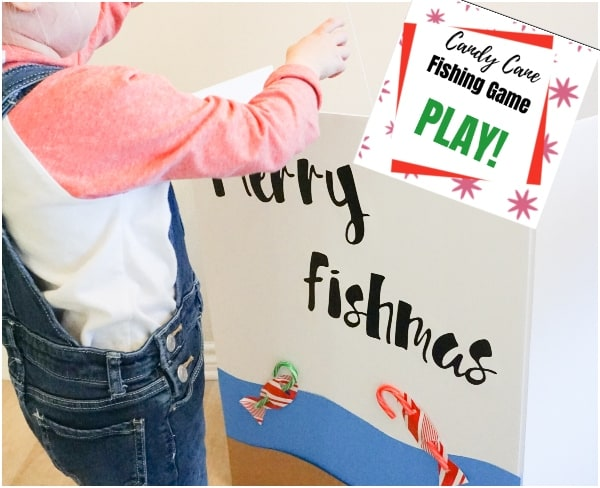 merry fishmas candy cane fishing game for kids
