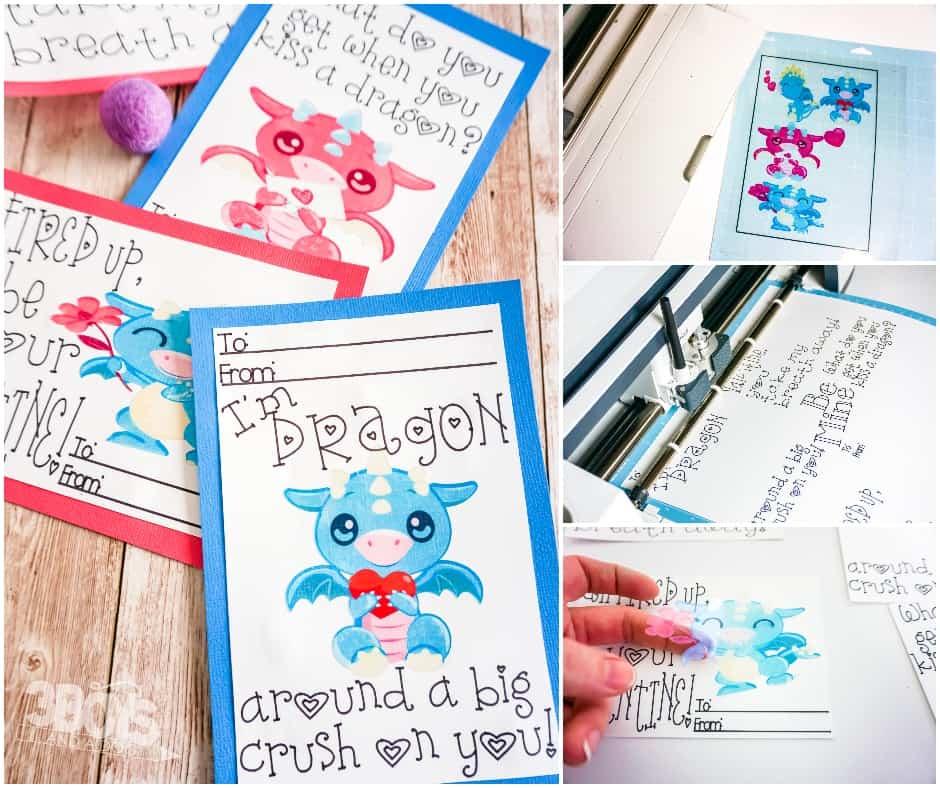 free printable dragon cards for kids
