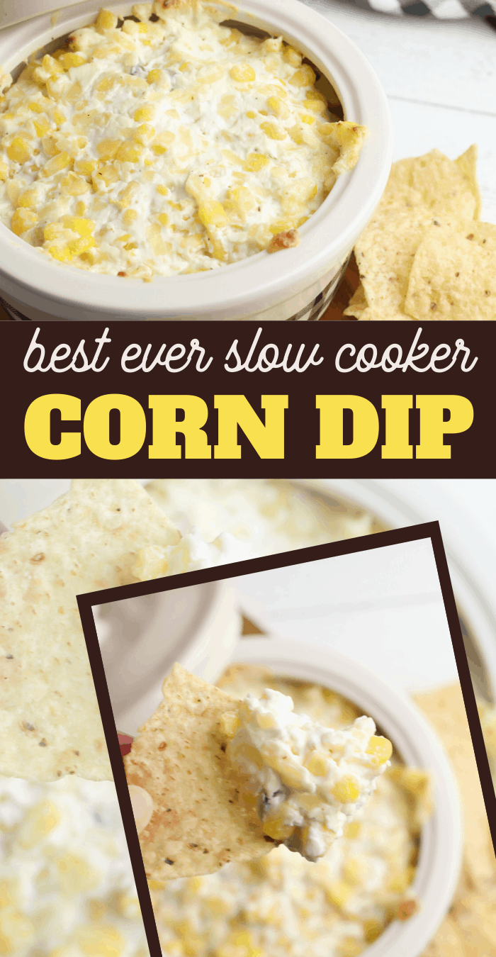 corn in a creamy dip recipe