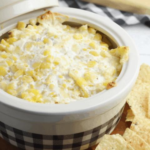 cheesy corn dip crockpot recipe