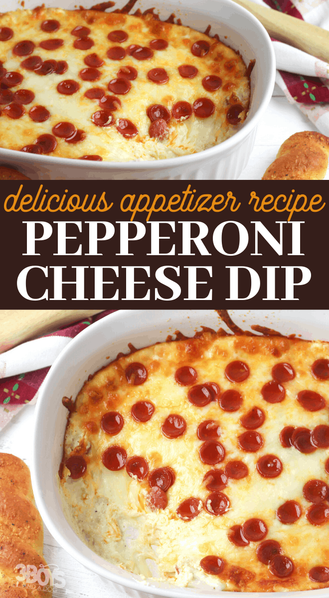 cheesy pepperoni warm dip recipe