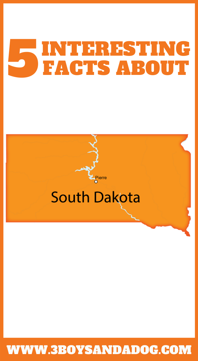 you may not know these five facts about the state of South Dakota