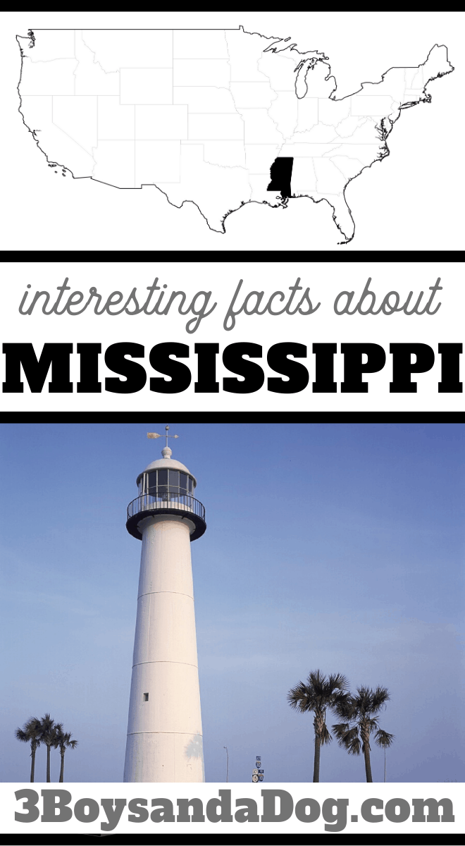 5 interesting facts about Mississippi