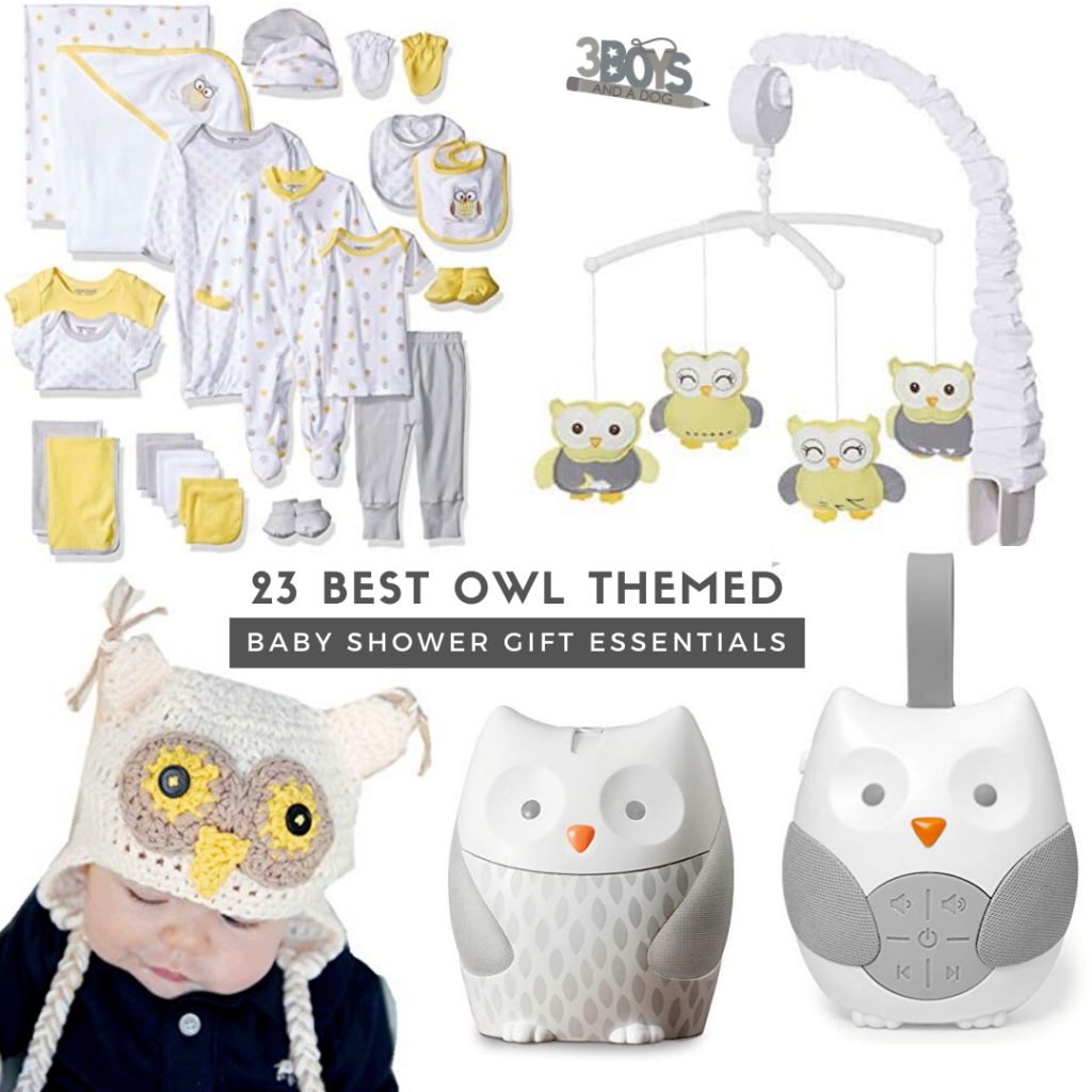 really wow with any of these owl themed gifts for an owl themed baby shower