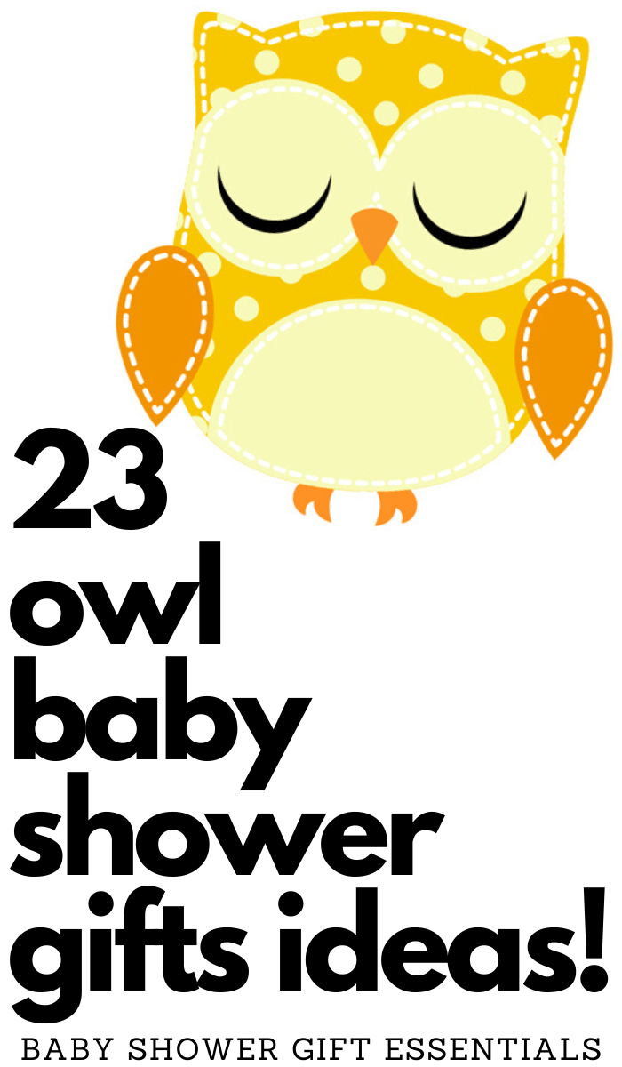 owl baby shower must have items and accessories