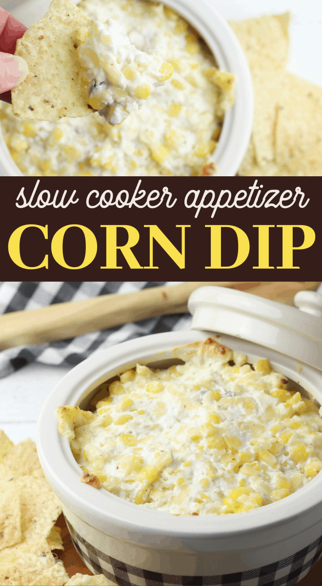 cheesy corn slow cooker dip recipe
