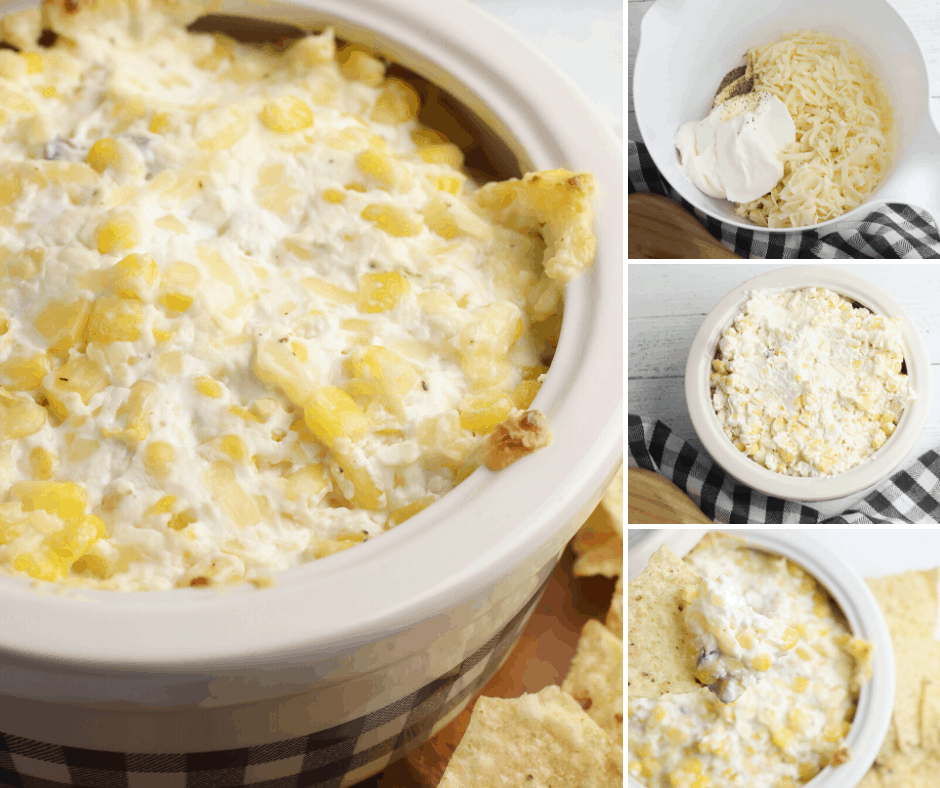 best ever Crockpot corn dip appetizer