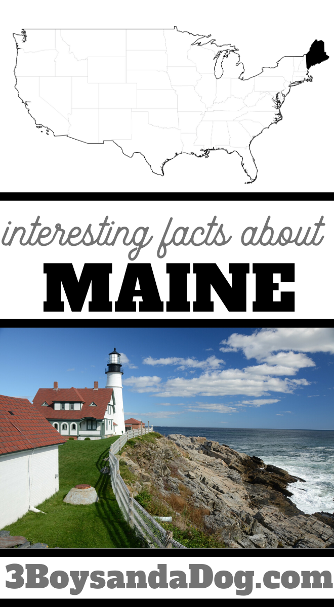 you may not know these five facts about the state of Maine