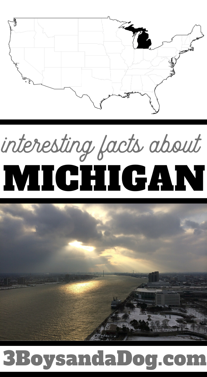 you may not know these five facts about the state of Michigan
