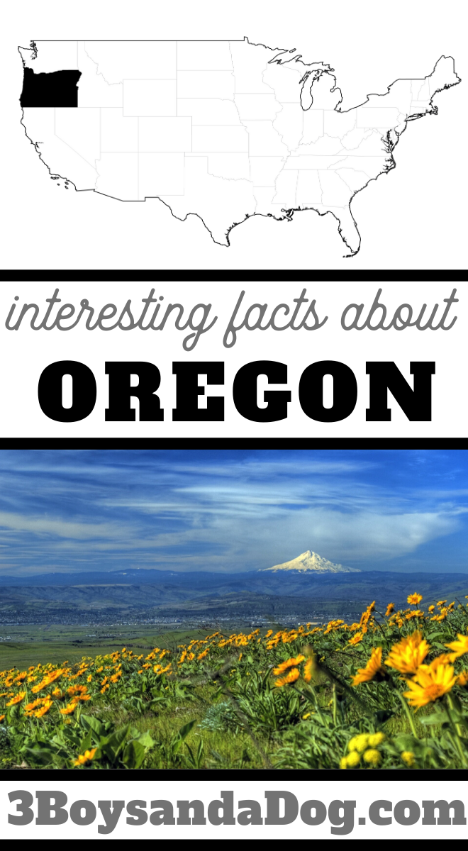 you may not know these five facts about the state of Oregon