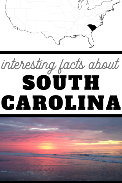 you may not know these five facts about the state of South Carolina