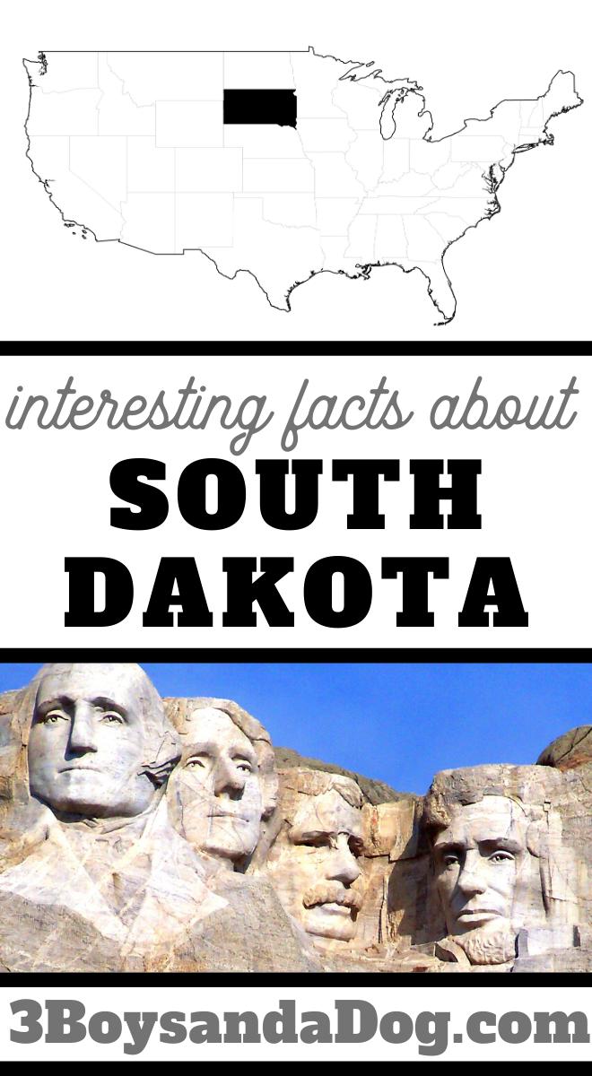 interesting facts about South Dakota
