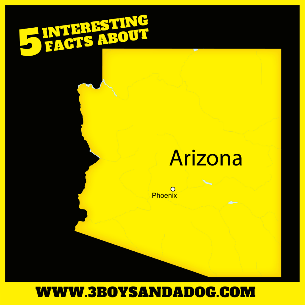 interesting facts about Arizona