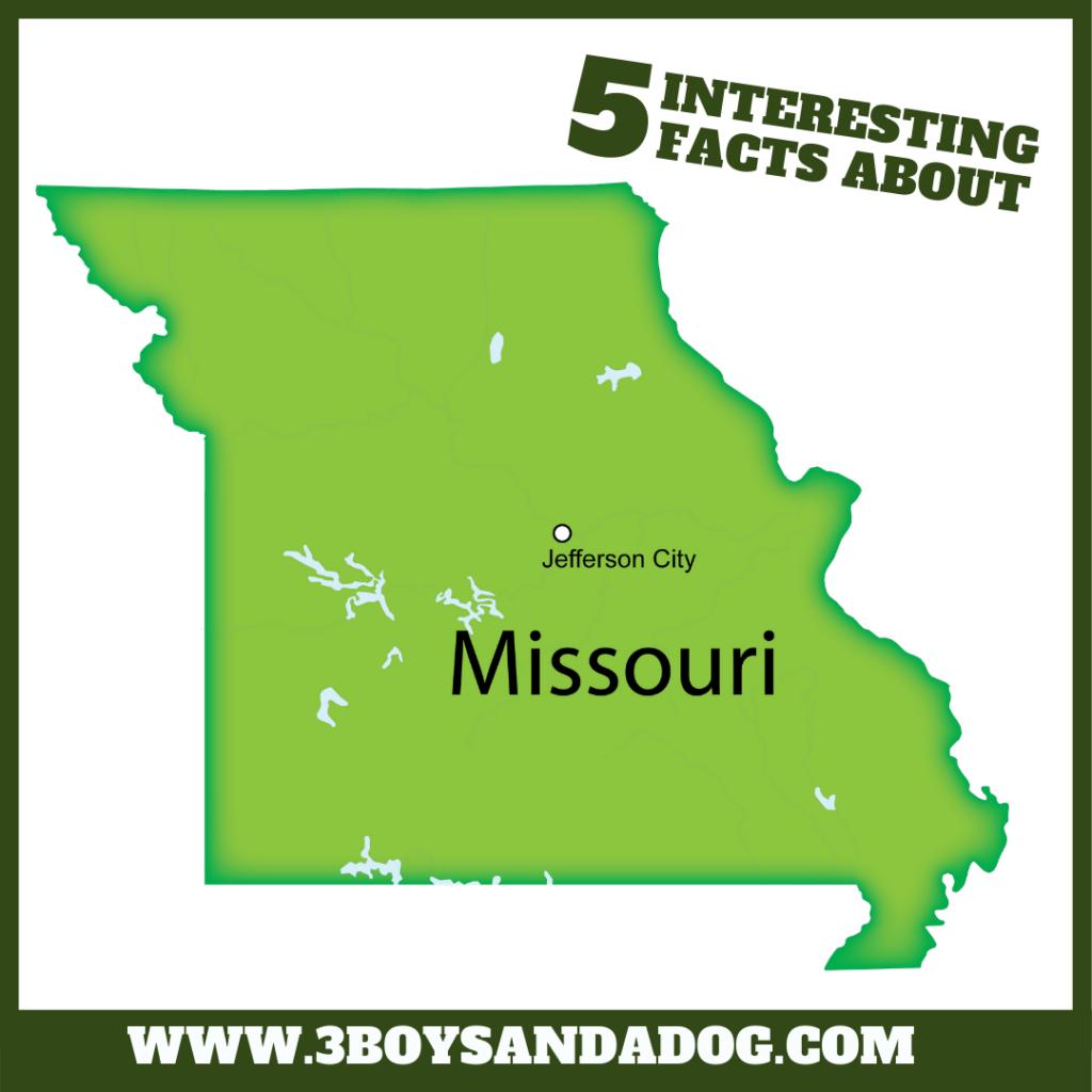 state unit study about Missouri