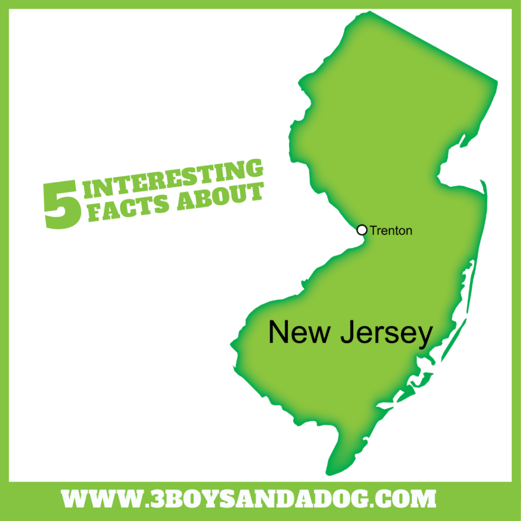 interesting facts about New Jersey