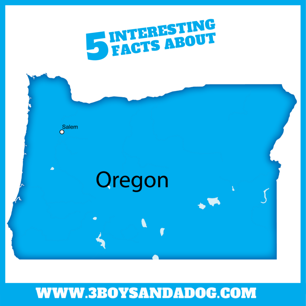 interesting facts about Oregon