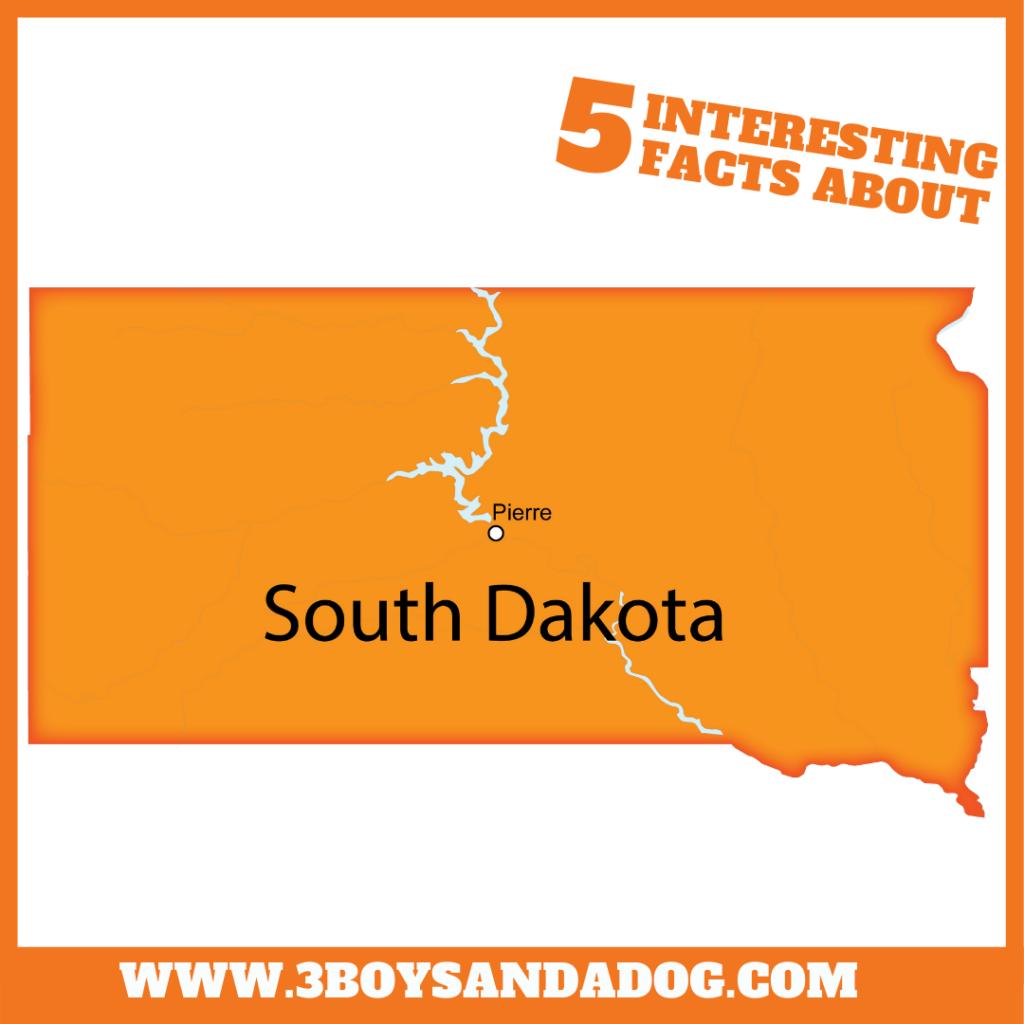 state unit study about South Dakota