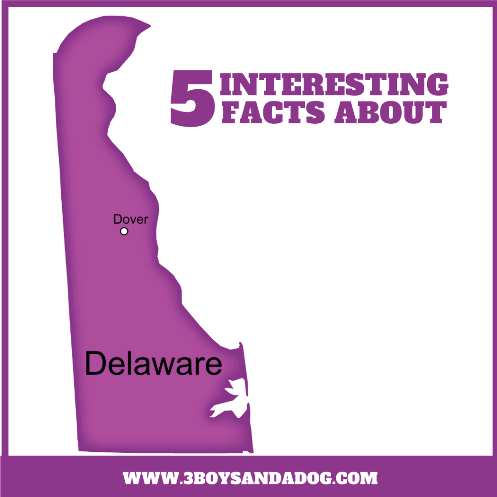 5 interesting facts about delaware