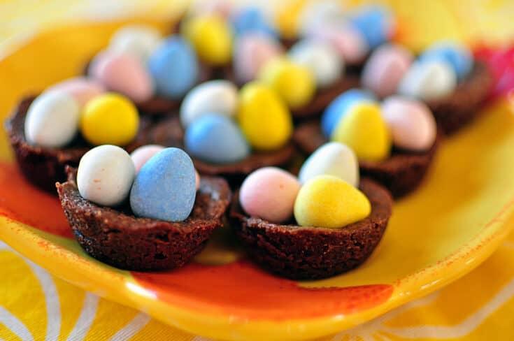 Brownie Nests