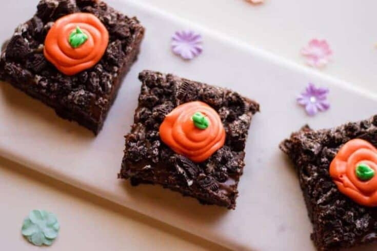 Spring Carrot Patch Brownies Recipe