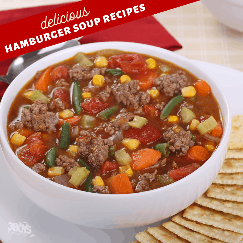 ground beef soup recipes