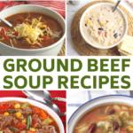 delicious hamburger soup recipes