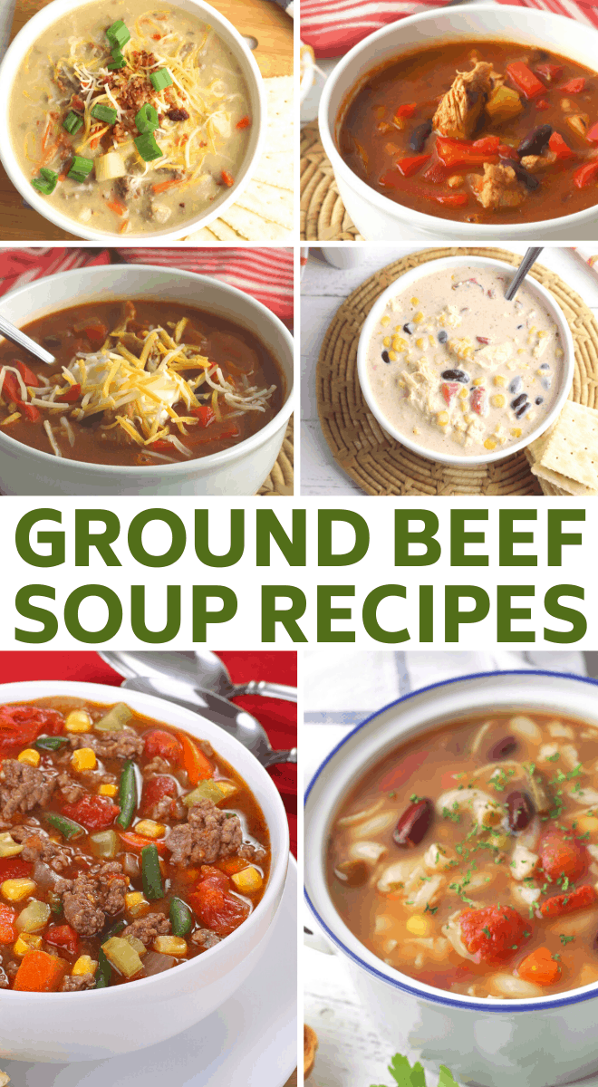 The Best Hamburger Soup Recipes 3 Boys And A Dog