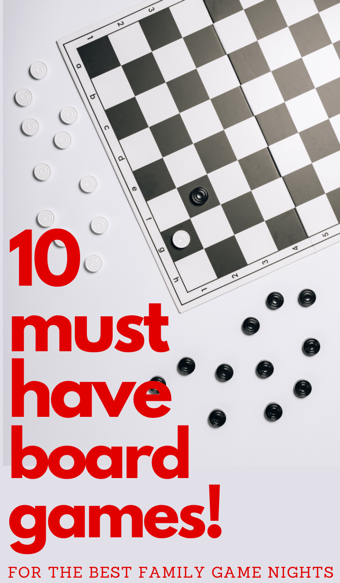 must have board games for your game closet