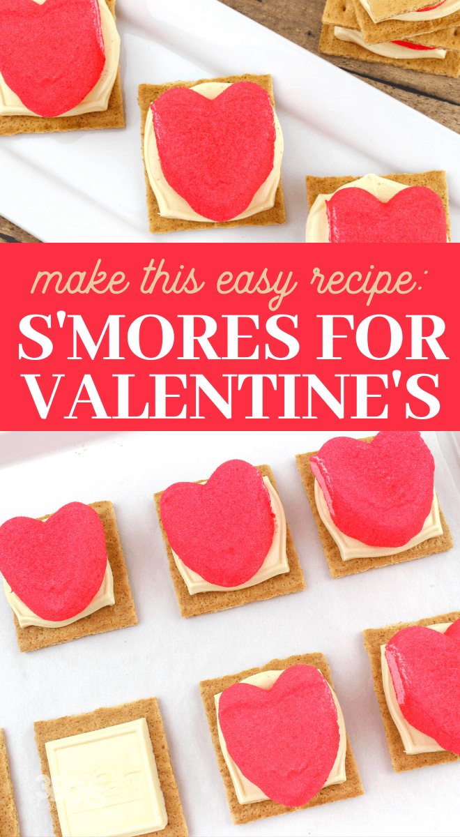 make this special valentines day smores treat for your kids