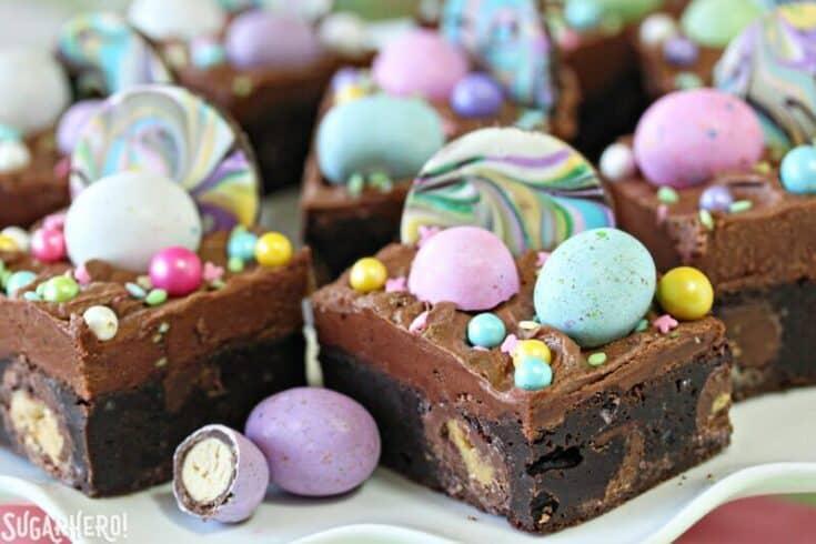 Malted Milk Chocolate Brownies