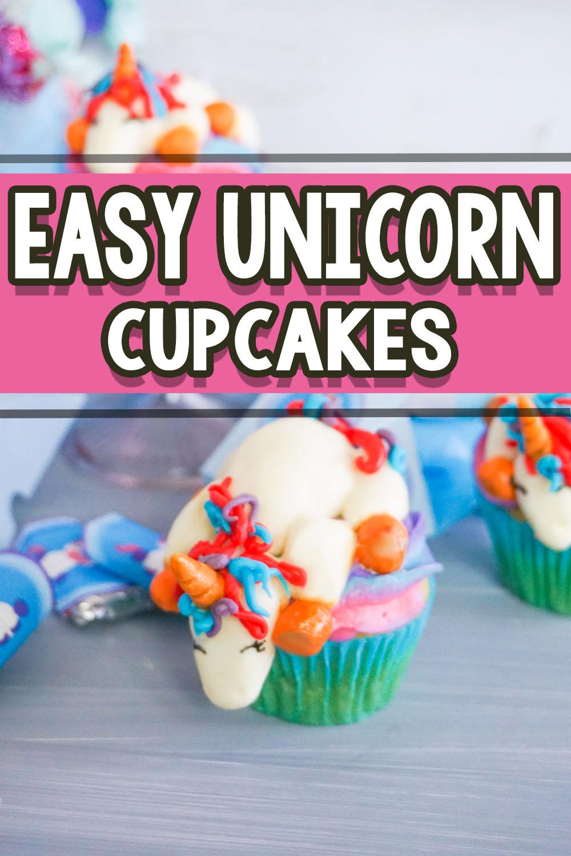 Adorable Unicorn Cupcakes