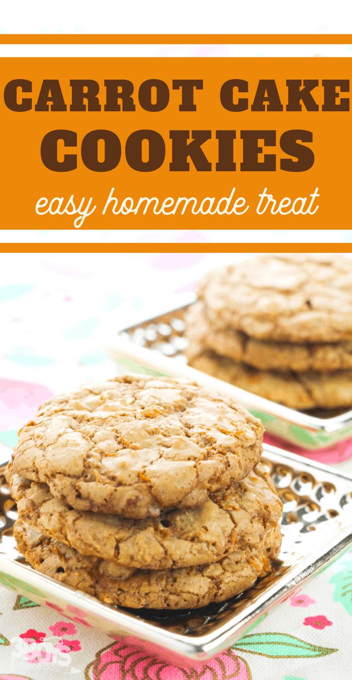 homemade carrot cake cookies recipe