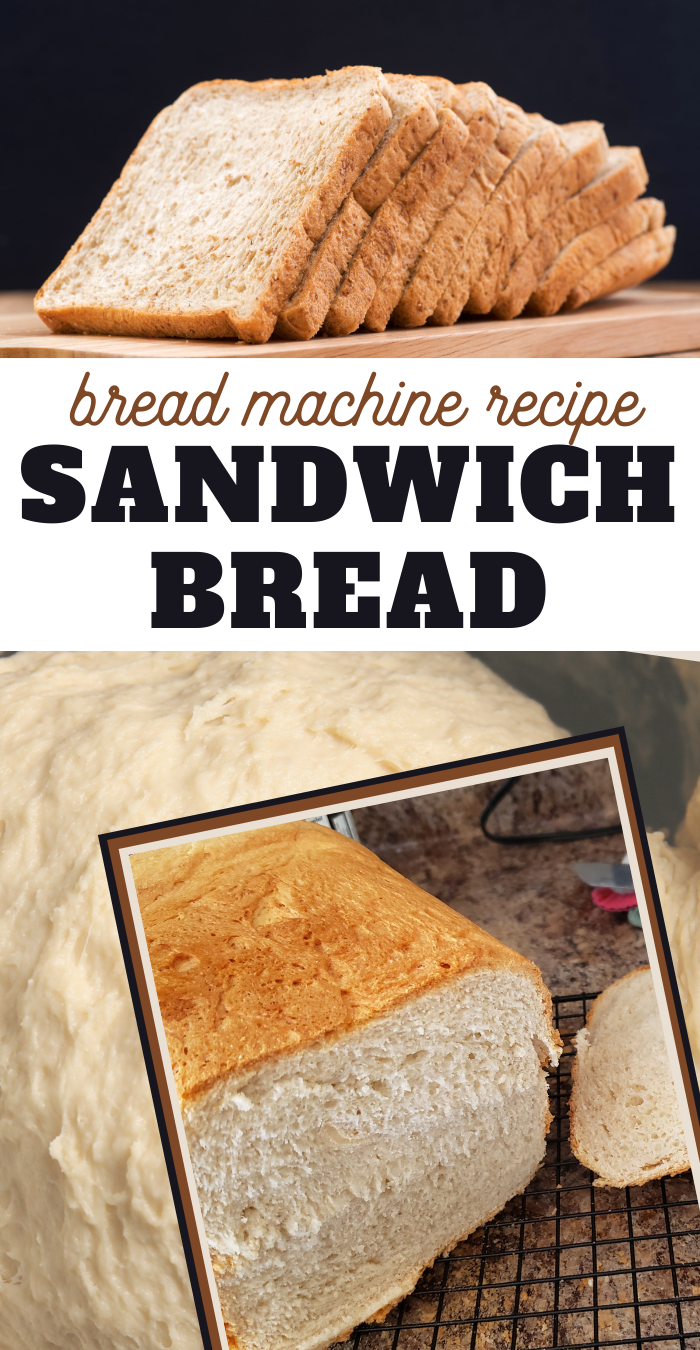 bread machine sandwich bread recipe