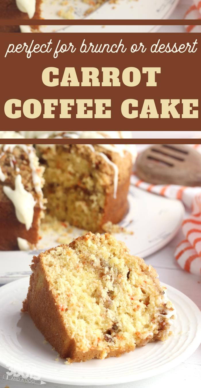 this bundt cake recipe tastes just like carrot cake