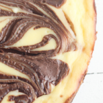cheesecake and brownies come together in this delicious marbled dessert
