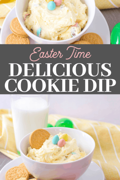 easter appetizer is the perfect sweet dip for cookies