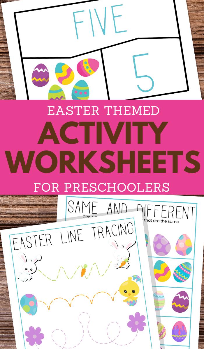 preschoolers printable easter activities