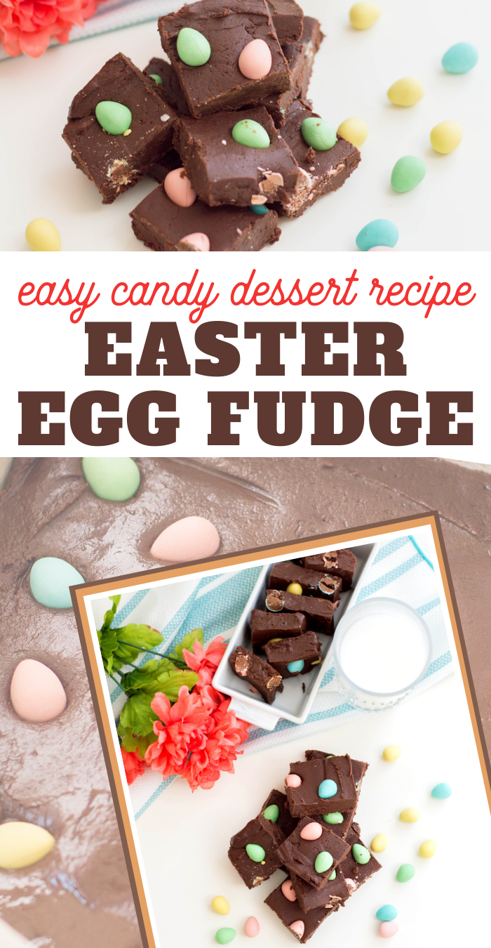 easy easter egg fudge recipe