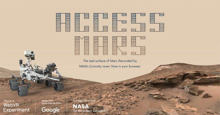 An interactive tour of Mars
