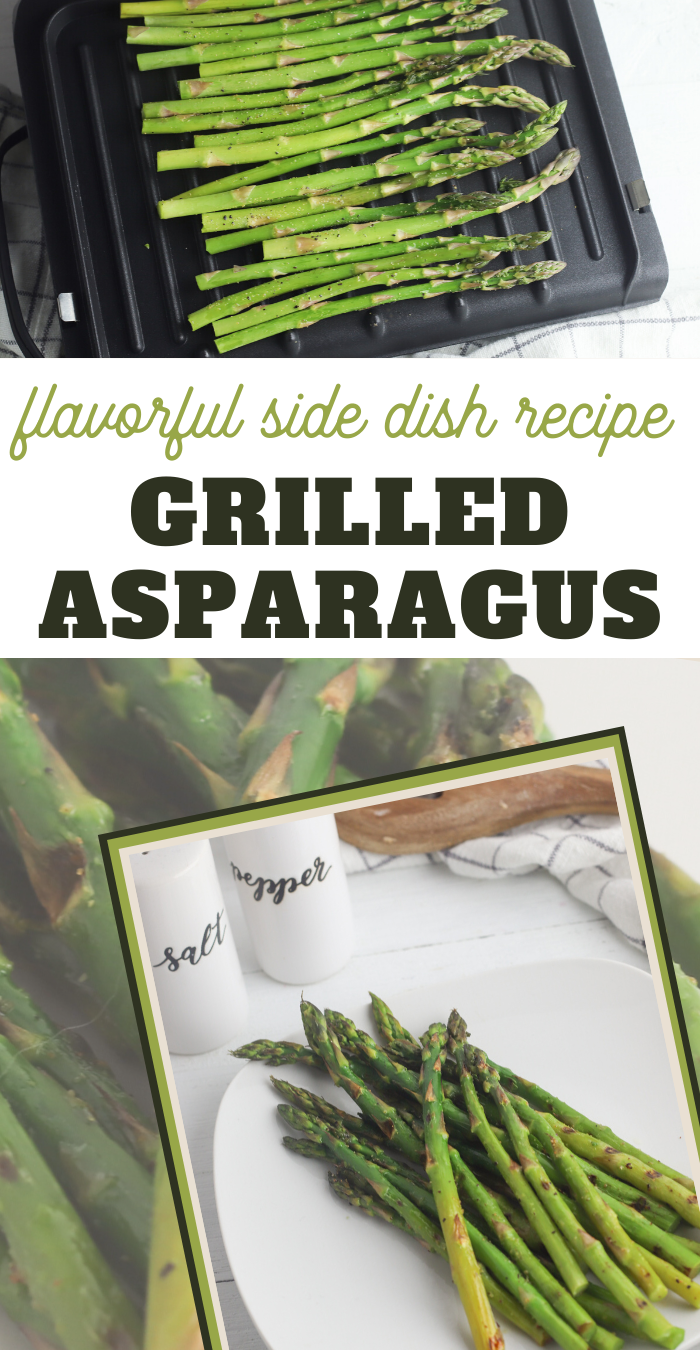 grilled asparagus side dish recipe on the george foreman