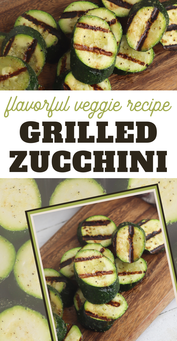 grilled zucchini on george foreman grill