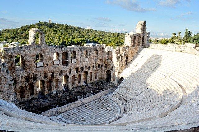 Explore the Theatre of Dionysus