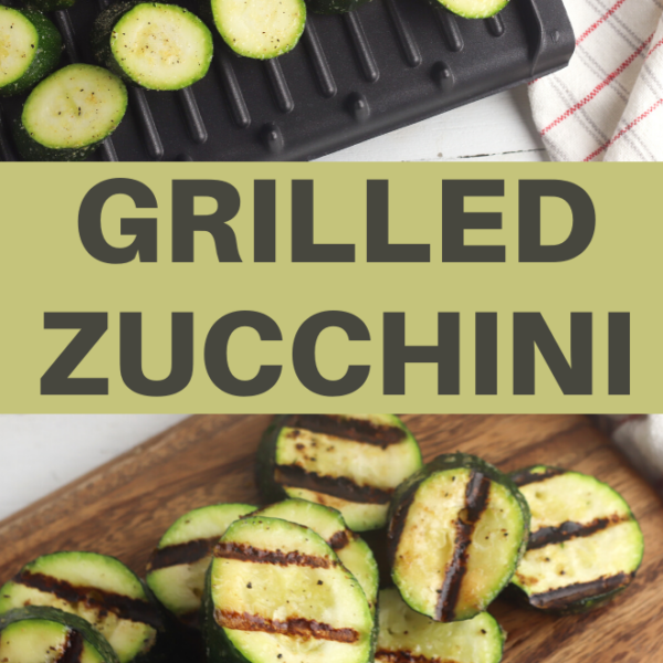 grilled zucchini slices side dish recipe