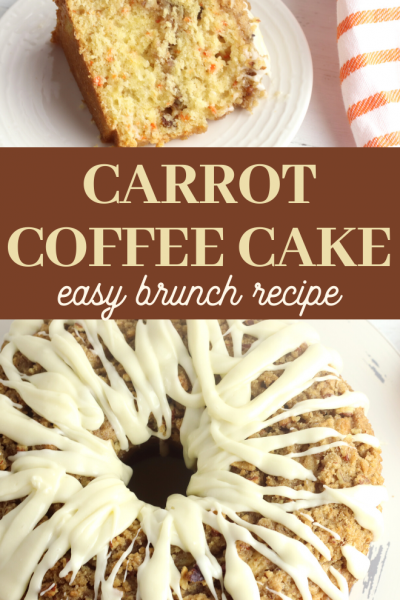 coffee carrot cake recipe