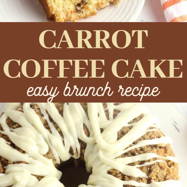coffee carrot cake recipe