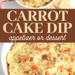 carrot cake dip recipe