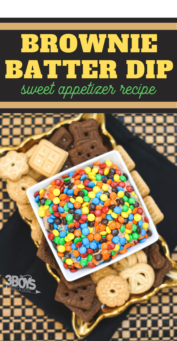 sweet dip recipe that tastes like m and m brownies