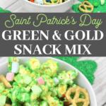 st. paddys day snack mix recipe